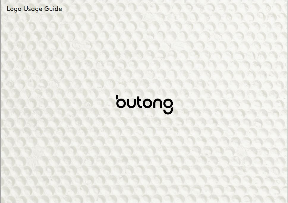 Butong logo usage guide